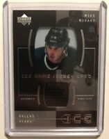 MIKE MODANO (DALLAS STARS) - 2000-01 Upper Deck Ice Game Used Jersey Card HOF🔥