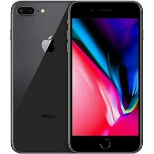 """Apple iPhone 8 Plus, US Version, 5.5"""" 64GB GSM Carriers Smartphone - Space Gray"""