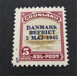 nystamps Greenland Stamp # 20 Mint OG NH $70   A16y262