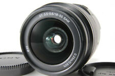Sony 18-55mm f/3.5-5.6 SAL1855 DT AF Zoom Sony A mount lens DSLR w/ Caps