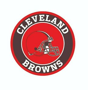 Cleveland Browns Football Color Logo Sports Decal Sticker-Free Shipping