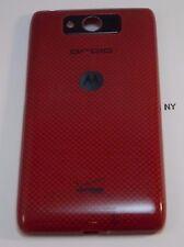 Red Rear Battery Cover Casing Motorola Droid MAXX XT1080M Verizon OEM #177-A