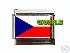 Czech Republic Flag Custom Italian Charm Czechoslovakia