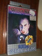 VINTAGE 1993 MASTER OF DARKNESS RARE SEGA GAME GEAR MIB SEALED