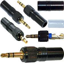 Sostituzione 3.5 mm oro bloccaggio Stereo Jack Plug per Sony & Trantec MICROFONO