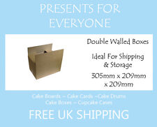 """10 x Shipping & Moving Boxes Storage boxes 12"""" x 9"""" x 9"""""""