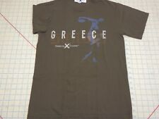 Celebrity Cruises Greece Mediterranean Europe ss brown t-shirt Adult SMALL Sm