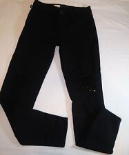 Rock and republic jeans Womens NWT Black Distressed Size 10 Skinny Stretch