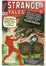 1963 No.113 Strange Tales Plantman!  *RARE Misprinted as issue #112 Inside Cover