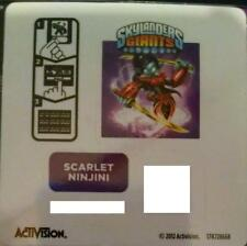Scarlet Ninjini Skylanders Giants Sticker/Code Only!