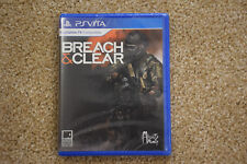 Limited Run #1: Breach & Clear (PS Vita) Factory sealed - Limited to 1500 copies