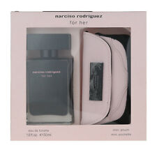 Narciso Rodriguez for Her 2 Piece Gift Set EDT 1.6Oz & Mini Pouch