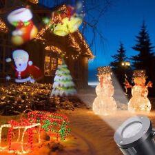 Projecteur laser LED Lights Lampe de décoration de paysage extérieur de Noël