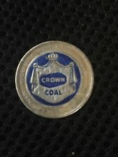 """New listing Coal Mine Scatter Tag Trade Name """"Crown"""" Blue Diamond Coal Chevrolet Ky Harlan C"""
