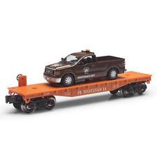 Railroad Train Flatcar Pennsylvania W/ F150 Maintenance Truck O Gauge Linited Ed