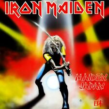 Iron Maiden - Maiden Japan Vinyl LP Cover Sticker or Magnet