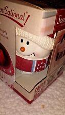 ScentSational Jolly Snowman Wax Warmer 2 wax pack incl.Wall Plug-NEW