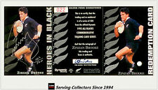 1995 Dynamic ALL BLACK Signature H2: Zizan Brooke (Redemp + Sign + Certificate)