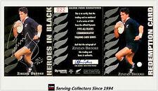 1995 Dynamic ALL BLACK Signature H2: Zizan Brooke (Redemp + Sign + Certificate)