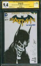 Batman 29 CGC SS 9.4 Angel Medina Original art Joker Sketch Afflick Movie no 8
