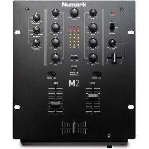 Numark M2 - Mixer Scratch 2 Canali a Rack per DJ con EQ a 3 Bande, Offerta!!