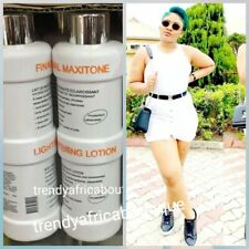Original Final Maxitone  powerful Lghtening body lotion with plant extracts +V-E