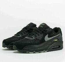 Nike Air Max 90 Halloween Black DC3892-001 Spider Web Shoes Running Sneakers