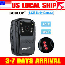 1080P Police Safety Camera IR Niht Version Body Cam Recorder 32GB Laser Pointer