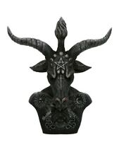 Ornament Celestial Baphomet Bust Black and Silver