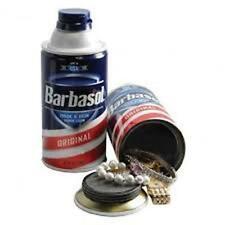 STASH - Barbasol Shaving Cream - Including FREE smell Proof Bag.