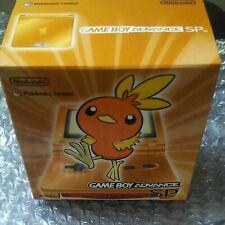 Game Boy Advance Sp Achamo Console Arancione Scatola Pokemon AGS-001 Nuovo Raro