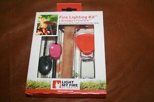 Bushcraft Fire Lighting Kit and Grandpa's FireFork
