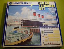 MIMIC SHIPS 1/1200 SCALE DIECAST BY HORNBY OCEAN TERMINAL SET