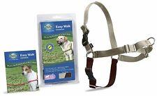 PetSafe Dog Nylon EASY WALK HARNESS Reduce Pulling Medium/Large Fawn and Brown