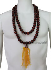 Shaolin Monk Necklace Prayer Mala Beads for Kung fu Suit Tai chi Uniform