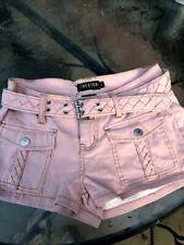 NEW Cherish Denim Juniors Shorts Mauve Color Size S