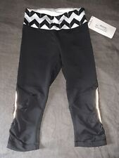 NWT AUTHENTIC WOMEN'S LULULEMON RUN: FOR YOUR LIFE RUNNING YOGA CROP PANTS 4