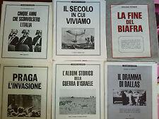 I DOCUMENTI DE L'EUROPEO 6 RIVISTE FASCICOLI ANNI 60' VINTAGE STOCK GIORNALE RAR