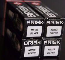 4 Brisk NR15S Spark Plug Neval Ural 650cc 650 Nissan Y9 Y12 Y15 Y 9 12 15 +NEW+