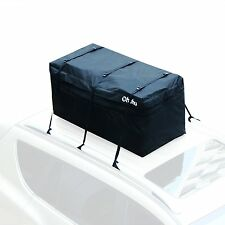 15 Cubic Feet Fire Resistant Expandable Hitch Tray Cargo Carrier Roof Top Bag