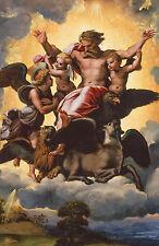 Framed Raphael Print - Ezekiel's Vision (Picture Painter Italian Renaissance Art