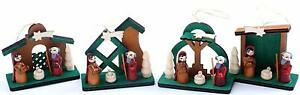 BRUBAKER Nativity Tree Ornaments Set - Hanging Figurines