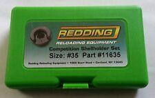 11635 REDDING COMPETITION SHELLHOLDER SET (338 LAPUA) - NEW - FREE SHIP