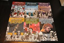 THE WALKING DEAD - GRAPHIC NOVELS #1-6 IMAGE FREE SHIPPING!!