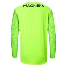 Maillot gardien de football verts longueur manches manches longues