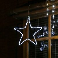 CONNECTABLE ConnectGo OUTDOOR GARDEN CHRISTMAS MOTIF SNOWFLAKE STAR LED LIGHT