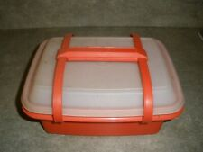 Vintage Tupperware Pack and Carry Lunch Box YOU CHOOSE COLOR