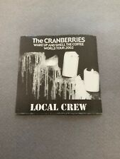 The Cranberries Crew Backstage Pass 2002 Very Rare
