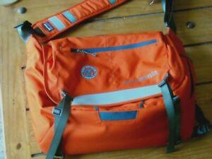 patagonia shoulder bag ORANGE new belgium brewing Padded laptop bag  niCe