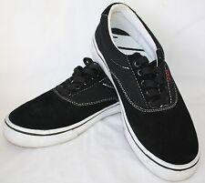 Vox Skateboarding Shoes Mens size 6.5 ~ Womens size 8 Black Suede EUC